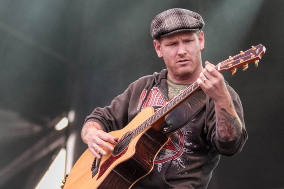 corey Taylor, Nova Rock 2012. (Photo: Patrick Münnich)