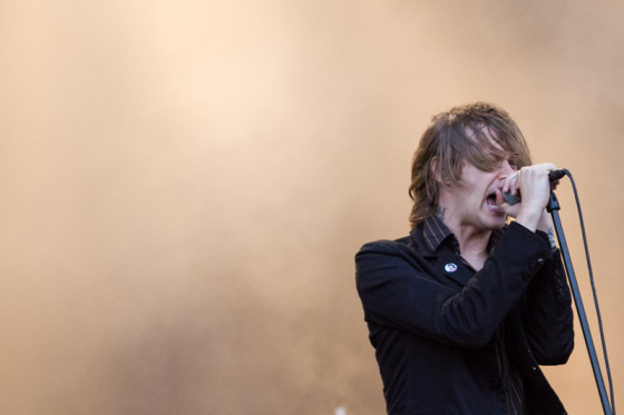 Refused, Nova Rock 2012. Photo: Patrick Münnich