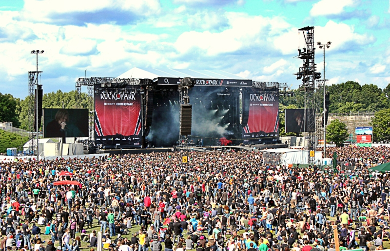 Rock im Park 2012, Center Stage
