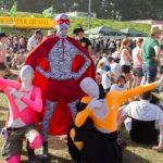 Natürlich ließen die Parkrocker auch 2014 keine Kostüme aus. (© MD/festivalrocker.com)