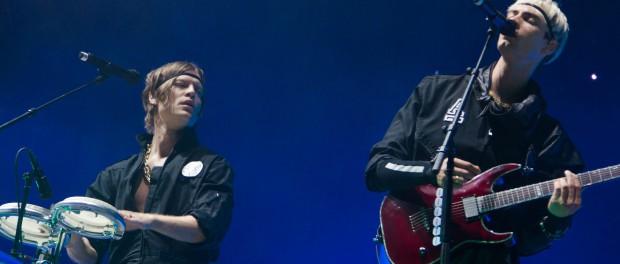 So wie beim Nova Rock 2014 wird man Mando Diao in nächster Zeit nicht mehr sehen: Die Band gab die Trennung von Säger Gustaf Norén bekannt. (Photo: MD / festivalrocker.com)