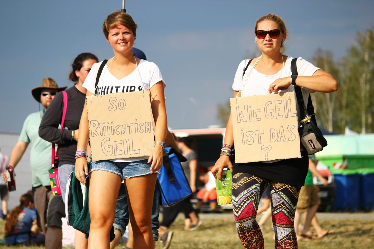 Sommer, Sonne, Festival. Wie finden wir das? (Photo: Festivalrocker)