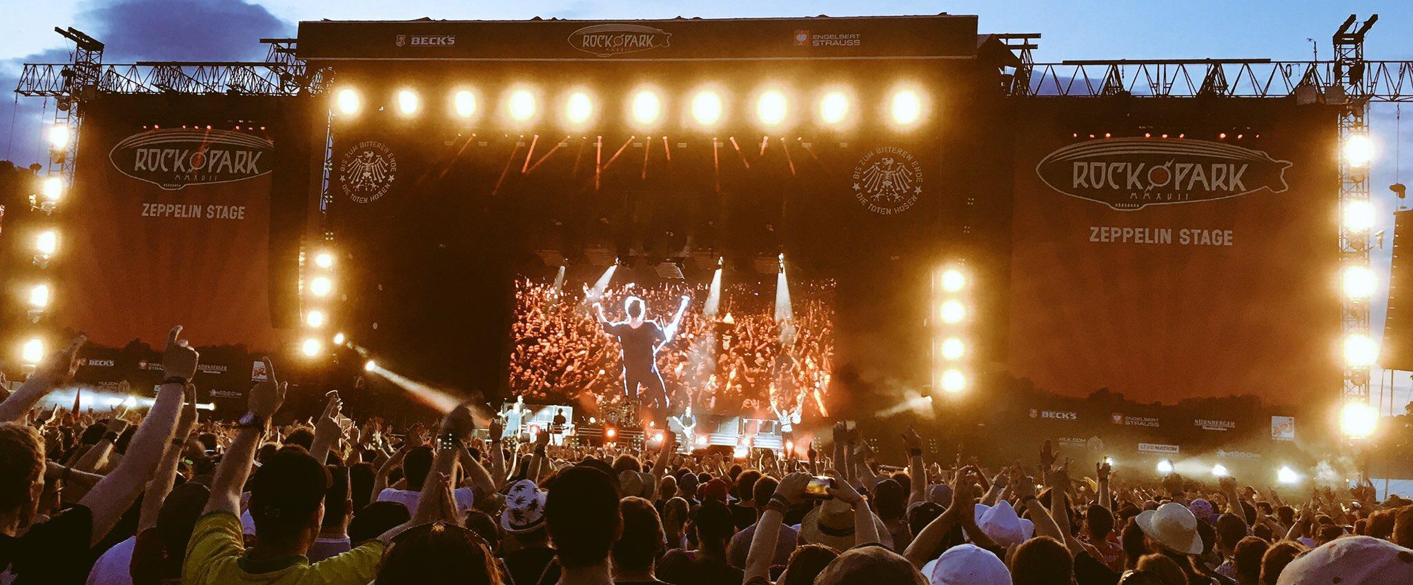 Die Toten Hosen, Rock im Park 2017 (Maida / festivalrocker.com)